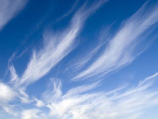 обои Светло синее небо фото
