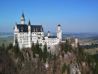 обои Замок на горе,  Германия фото