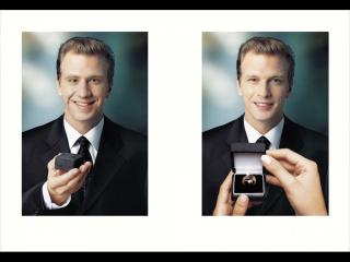 обои Предложение руки и сердца от молодого человека фото