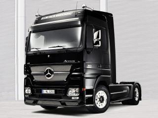 обои Mercedes черный фото
