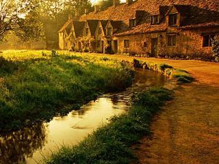 обои Домик в Англии фото