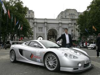 обои Ascari KZ1 выставка фото