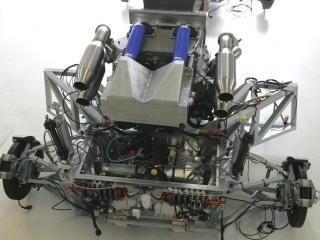 обои 2008 Weber Sportscar двигатель фото