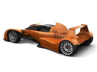 обои 2006 Caparo T1 бок фото