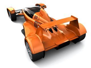 обои 2006 Caparo T1 сзади фото