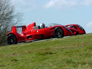 обои 2007 Caparo T1 бок фото