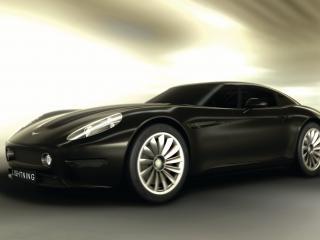 обои 2012 Lightning GT черный фото