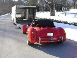 обои 1997 Panoz Roadster зима фото