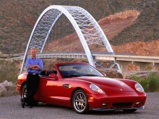 обои 2006 Panoz Esperante у моста фото