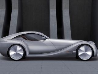 обои 2010 Morgan EvaGT Concept сбоку фото