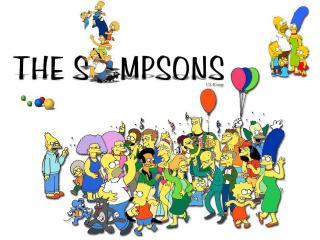 обои Персонажи мульсериала Симпсоны фото
