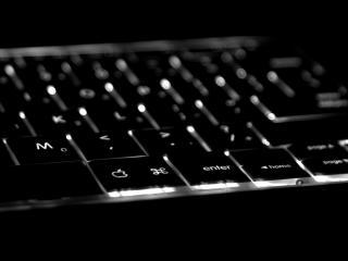 обои Черная клавиатура фото