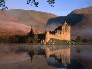 обои Замок в Шотландии фото