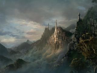 обои Королевство в горах фото
