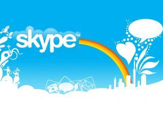 обои Skype Скайп программа для общения фото