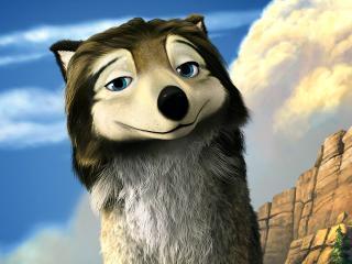 обои Улыбка волка фото