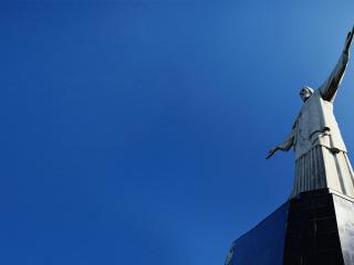 обои Скульптура Христа в Рио фото