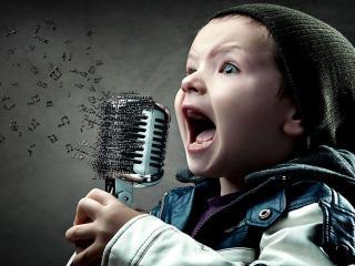 обои Хороший вокал - это громкость фото