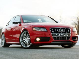 обои Красная Audi красивая фото