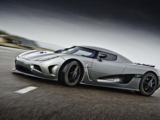 обои Серый Koenigsegg-Agera фото