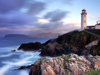 обои Маяк Fanad Head,   Донегал,   Ирландия фото