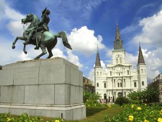 обои Площадь Джексона,   Новый Орлеан,   Луизиана фото