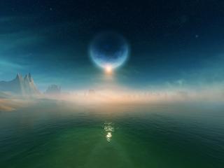 обои Такие близкие планеты фото