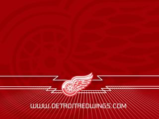 """обои """"Красные крылья"""" из Детройта фото"""