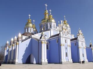 обои Михайловский собор в Киеве фото