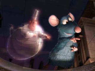 обои Мышонок и привидение фото