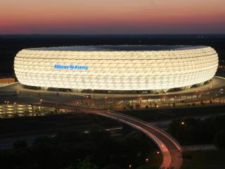 обои Альянс-Арена Мюнхен фото