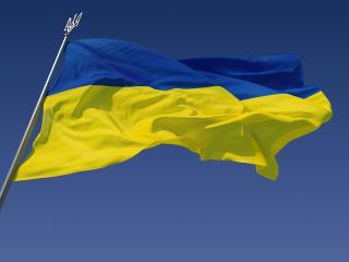 обои Флаг Украины фото