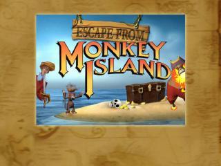 обои Escape from Monkey Island красиво фото