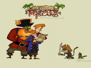 обои Escape from Monkey Island персонажи фото