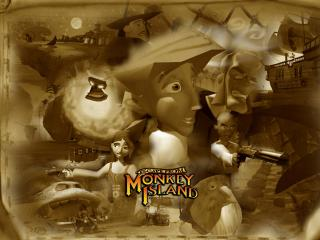 обои Escape from Monkey Island фото