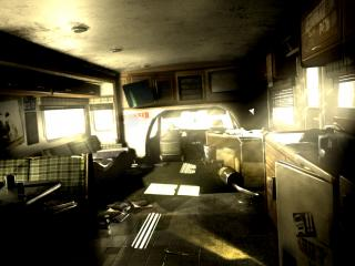 обои Colin mcrae dirt 2 внутри фургончика фото