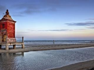 обои Храм у моря фото