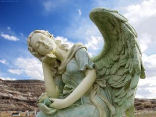 обои Каменный ангел фото