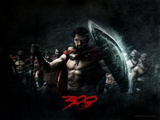 обои Спартанец со щитом фото