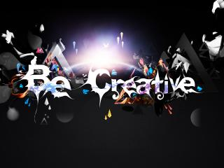 обои Граффити. BE CREATIVE фото