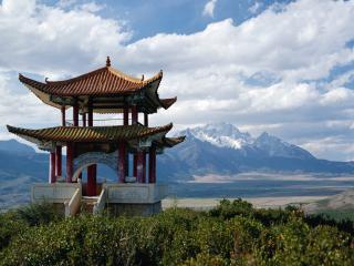 обои НА просторах Китая фото