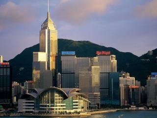 обои Небоскребы Гонконга фото