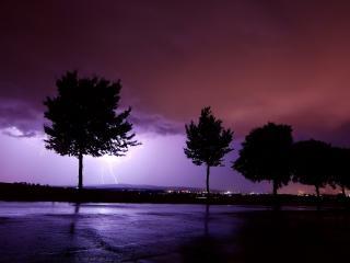 обои Гроза ночью фото