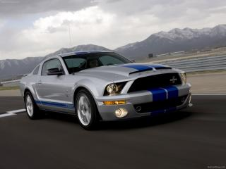 обои Ford Mustang Shelby GT500KR фото