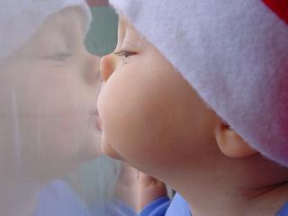 обои Поцелуйчик фото