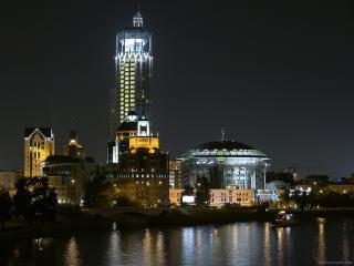 обои Дворец музыки в Москве фото