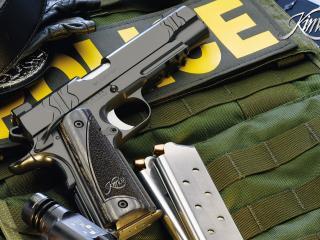 обои Оружие полицейского Kimber фото