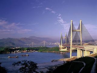 обои Мост в Гонг-Конге фото