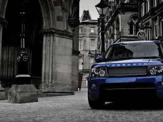 обои Range Rover в городе фото
