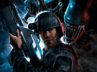 обои Игра Aliens  Colonial Marines чужие фото